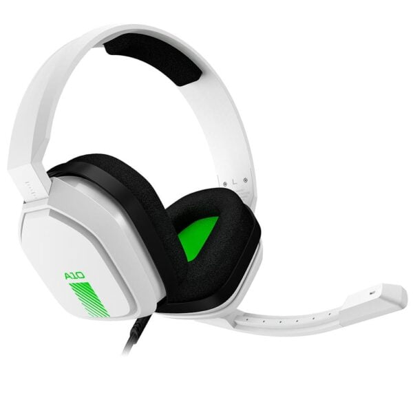 Headset Gamer Astro A10 Branco e Verde Xbox One, Nintendo Switch e PC - 939-001854