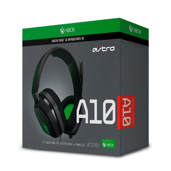 Headset Gamer Astro A10 Xb1 Ps4, Xbox One, Nintendo Switch e Pc