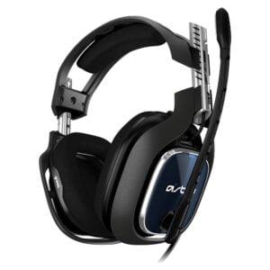 Headset Gamer Astro A40 TR para PS5, PS4, Xbox Series, Xbox One, PC e Mac - Preto/Azul