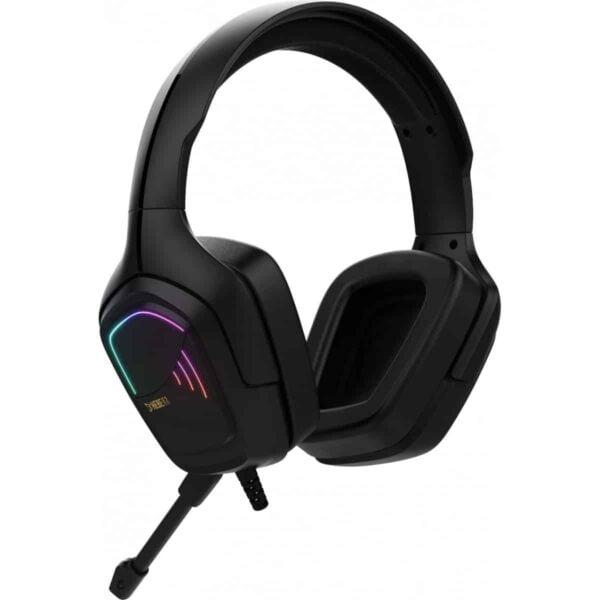 Headset Gamer Gamdias Hebe E2 RGB Surround 40mm