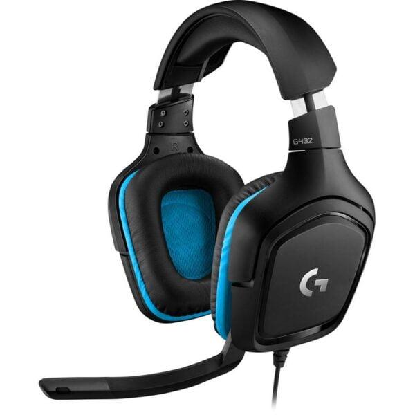 Headset Gamer Logitech G432 7.1 Surround PC, PS4, Xbox One e Switch