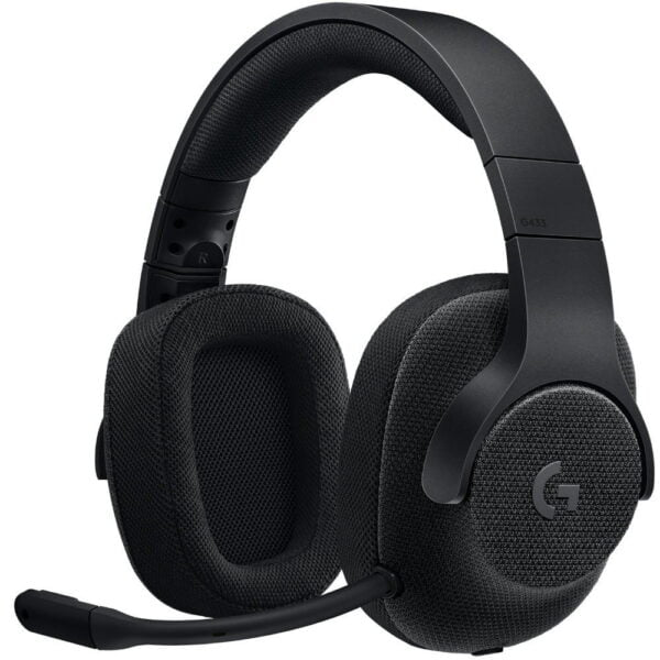 Headset Gamer Logitech G433 7.1 Surround Drivers Pro-G