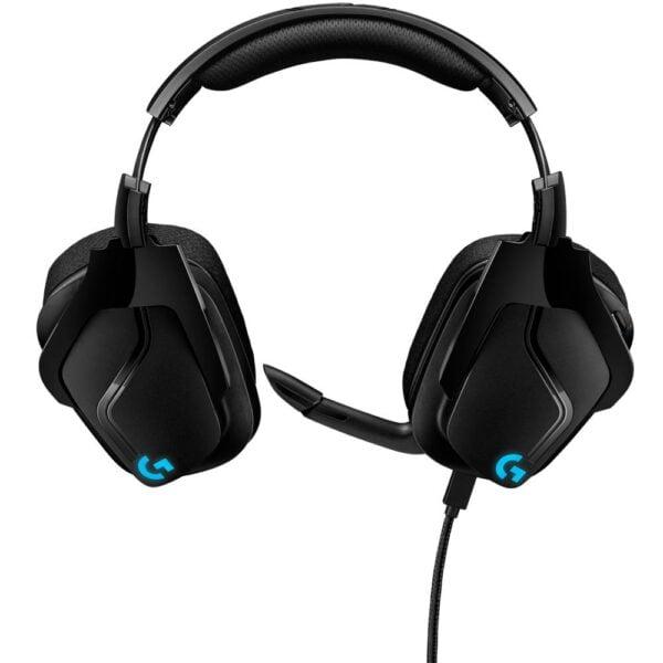 Headset Gamer Logitech G635 RGB Surround 7.1 50mm