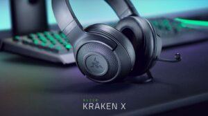 Headset Gamer Razer Kraken X, P2, 40mm, Para Console