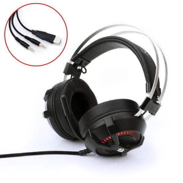 Headset Gamer Redragon Bio H801 Iluminado