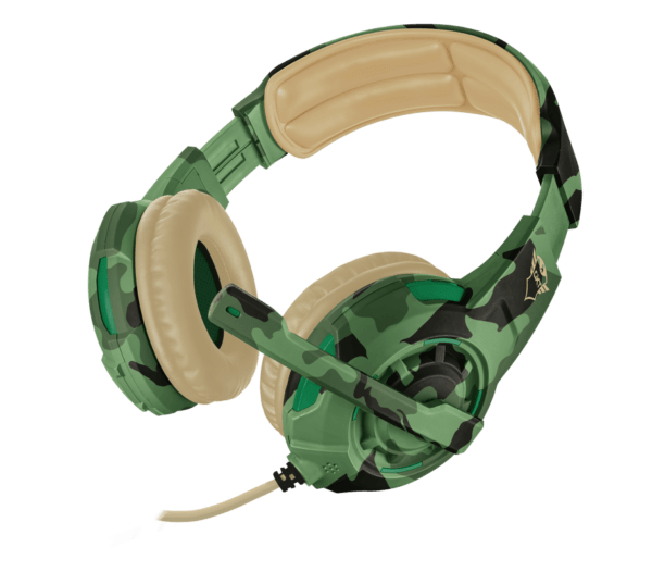 Headset Gamer Trust GXT 310C Radius PS4, Xbox One, Switch e PC - Jungle Camo