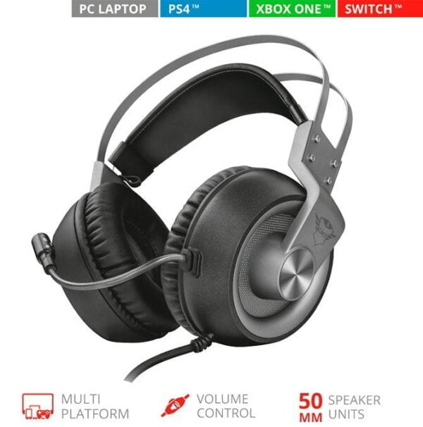 Headset Gamer Trust GXT 430 Ironn Ps4, Xbox One, Nintendo Switch e Pc