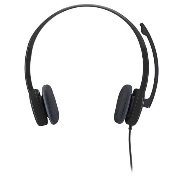 Headset Logitech Estéreo H151 Analógico P3 Preto - 981-000587