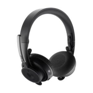 Headset Logitech Zone Wireless Plus - Sem fio - Preto