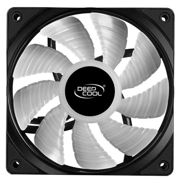 Kit Coolers Fan RGB DeepCool RF 120 3x12cm – DP-FRGB-RF120-3