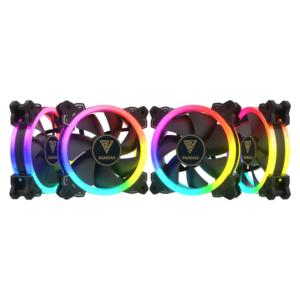 Kit Coolers Fan RGB Gamdias Aeolus M1 4x120mm – 1204R