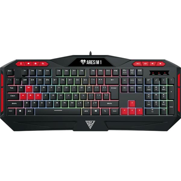 Kit Gamer Gamdias Teclado + Mouse Ares M1 ABNT2