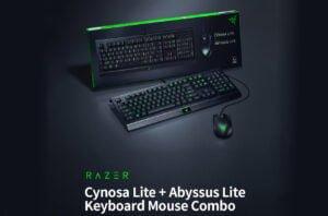 Kit Gamer Razer - Teclado Cynosa Lite + Mouse Abyssus Lite