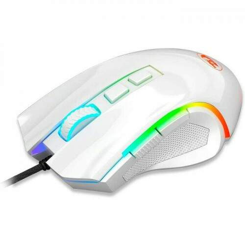 Kit Gamer Redragon Mouse Griffin M607W + Headset Zeus White H510W