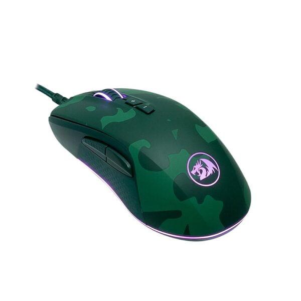 Kit Gamer Redragon Teclado e Mouse Rainbow S108 Hunter Dark Green ABNT2