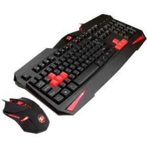 Kit Gamer Redragon Teclado Multimídia e Mouse - S101-2
