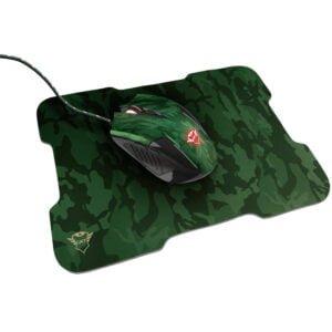 Kit Gamer Trust GXT 781 Rixa - Mouse Gamer 3200dpi 6 botões LED + MousePad Emborrachado