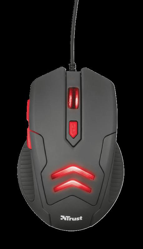 Kit Gamer Trust Mousepad + Mouse Ziva - 21963