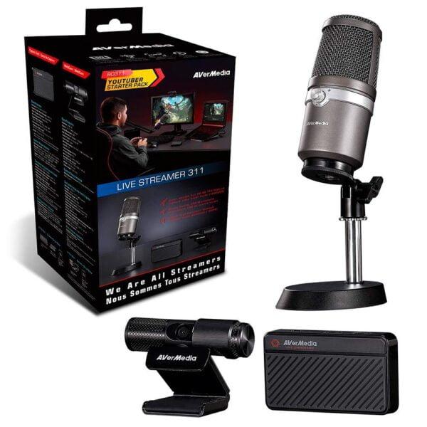 Kit Live Streamer Full HD - BO311