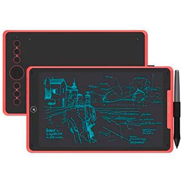 "Mesa Digitalizadora Huion Inspiroy 10"" Coral Red – H320M-R"