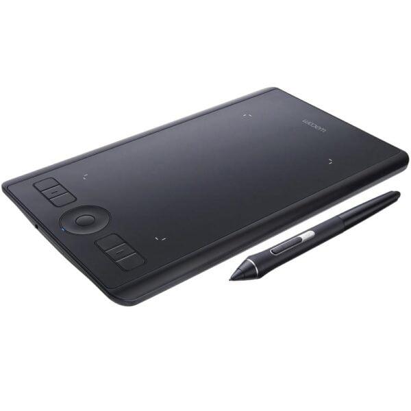Mesa Digitalizadora Pequena Wacom Intuos Pro 5080 LPI USB Bluetooth - PTH460
