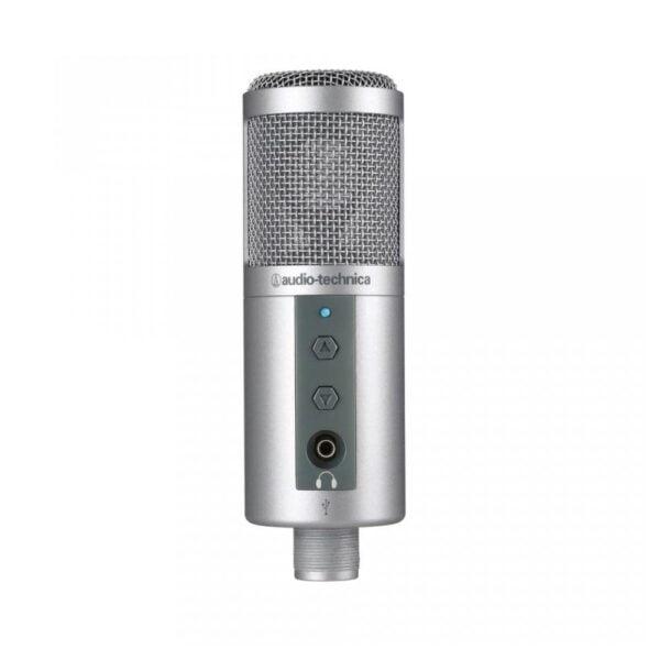 Microfone Condensador Com Tripé Audio-Technica USB – ATR2500-USB
