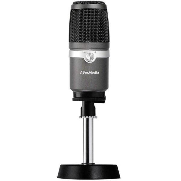 Microfone Condensador Unidirecional AverMedia USB - AM310