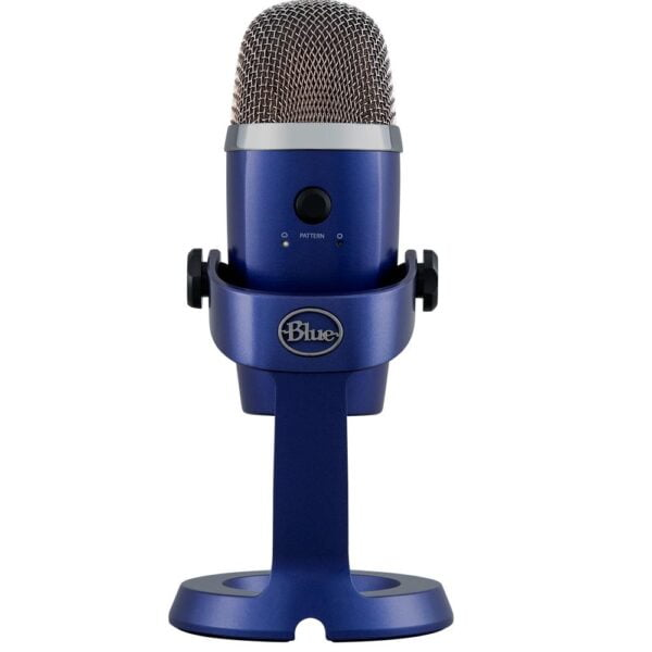 Microfone Condensador USB Blue Yeti Nano Azul - 988-000089