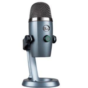 Microfone Condensador USB Blue Yeti Nano Cinza