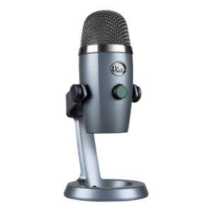 Microfone Condensador USB Blue Yeti Nano Cinza - 988-000088