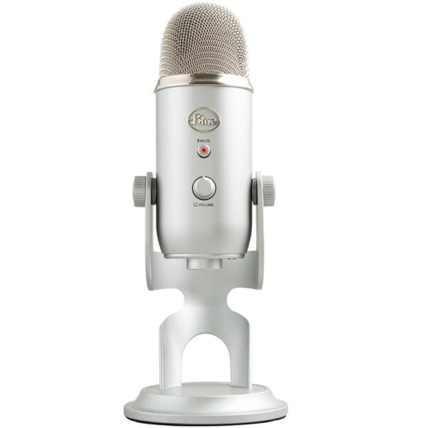 Microfone Condensador USB Blue Yeti Prata