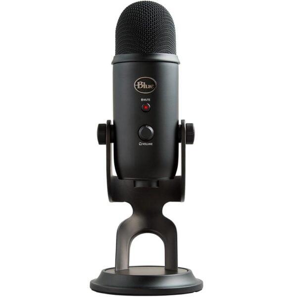 Microfone Condensador USB Blue Yeti Preto