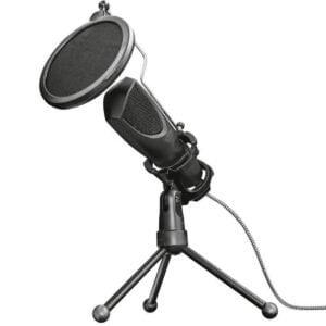 Microfone Condensador USB Trust Mantis Com Tripé Ajustável – GXT 232
