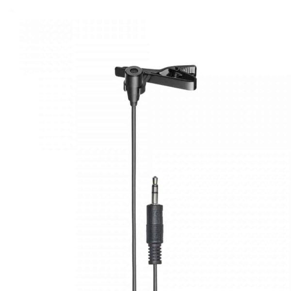 Microfone de Lapela Audio-Technica Condensador Omnidirecional P2 - ATR3350XIS