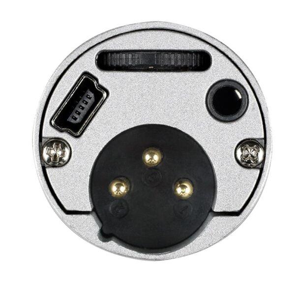 Microfone Dinânico Com Tripé Audio-Technica USB XLR - ATR2100