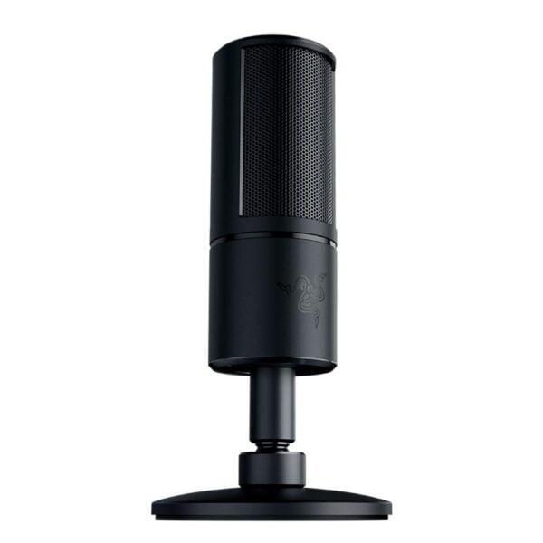 Microfone Razer Seiren X, Condensador, USB, Black