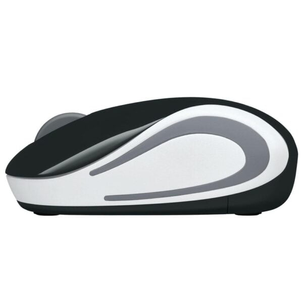 Mini Mouse Sem Fio Logitech M187 Preto 1000DPI