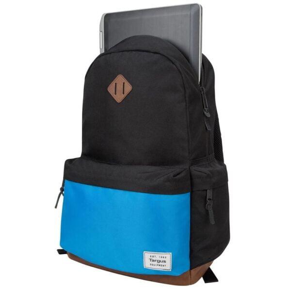 Mochila Targus para Notebook 15'' Strata II Preta e Azul - TSB936