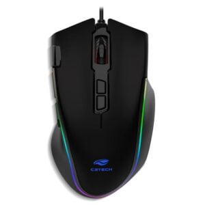 Mouse Gamer C3Tech Fury MG-520 - 7000 DPI, Led, RGB