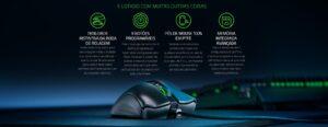 Mouse Gamer Razer Deathadder V2, 8 Botões, Chroma, Optical Switch, 20000DPI