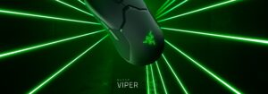 Mouse Gamer Razer Viper, 8 Botões, Chroma, Optical Switch, 16000DPI
