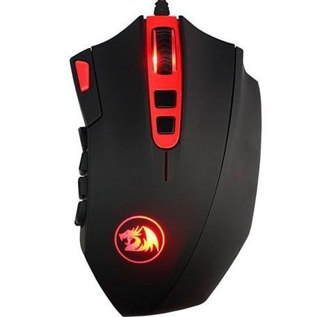 Mouse Gamer Redragon M901 Laser Perdition 16400DPI