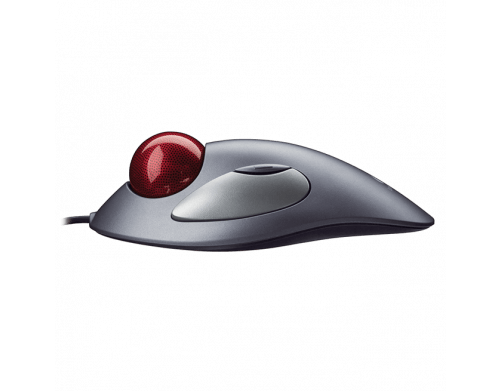 Mouse Logitech Com fio Trackball Trackman Marble