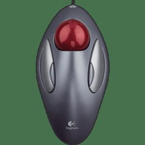 Mouse Logitech Com fio Trackball Trackman Marble