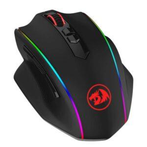 Mouse Redragon Vampire Elite, RGB, Preto, 8 Botões, 16000DPI