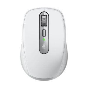 Mouse sem fio Logitech MX Anywhere 3, Unifying, Bluetooth P/ Mac, iPad, PC, Linux - Cinza Claro - 910-005993