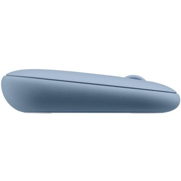 Mouse Sem Fio Logitech Pebble M350 Azul Unifying