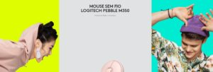 Mouse Sem Fio Logitech Pebble M350 Unifying