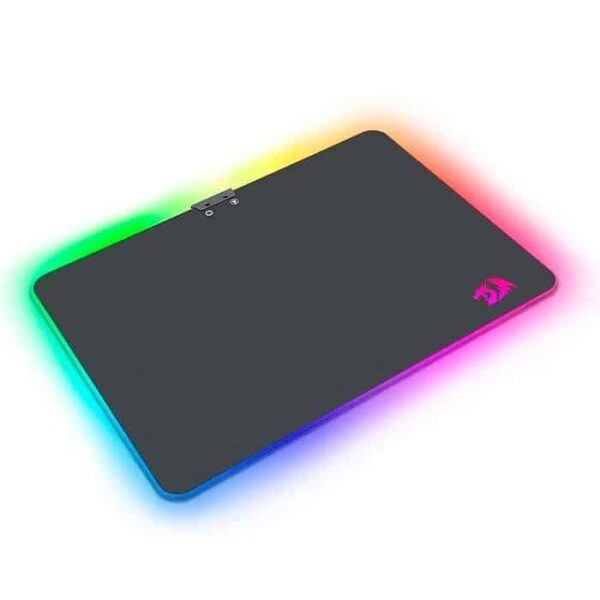 Mousepad Gamer Redragon RGB Aurora Médio P010 Speed