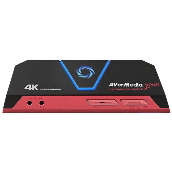 Placa de Captura 1080p60 Avermedia Live Gamer Portable 2 Plus - GC513